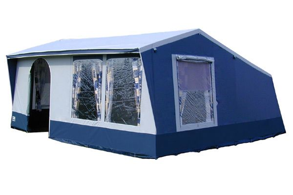 Goldcamp Chateau 6 TC tenda a casetta