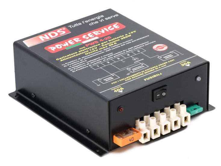 NDS Power Service Basic caricabatteria